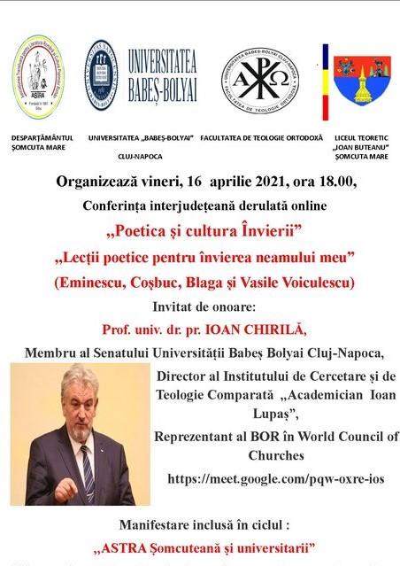 Conferință interjudețeană organizată de ASTRA Șomcuteană