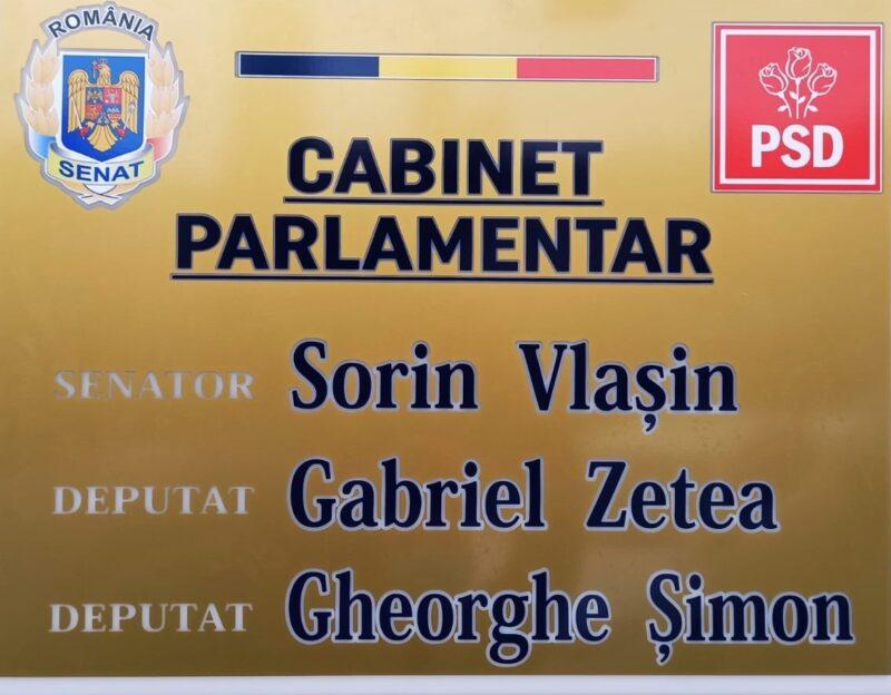 Cabinet parlamentar, la Sighetu Marmației
