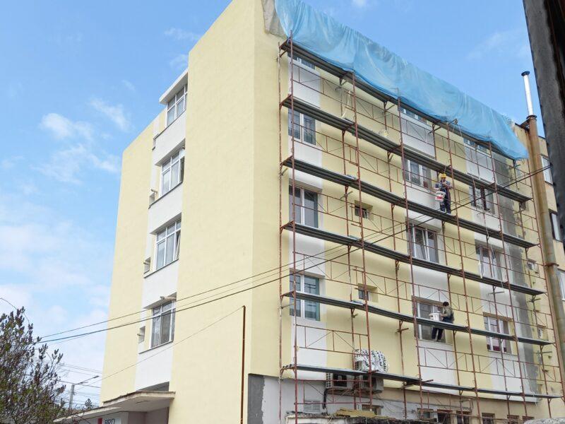 ȘOMCUTA MARE: Anveloparea blocurilor- pas spre schimbarea imaginii orașului