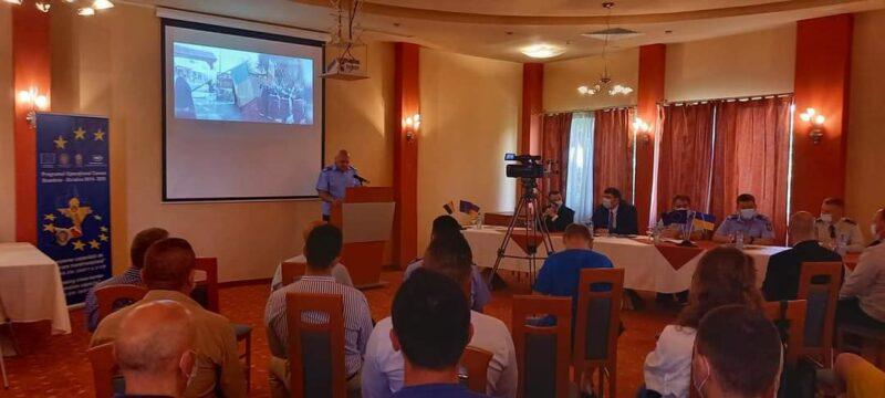 Final de proiect la Jandarmeria Maramureș
