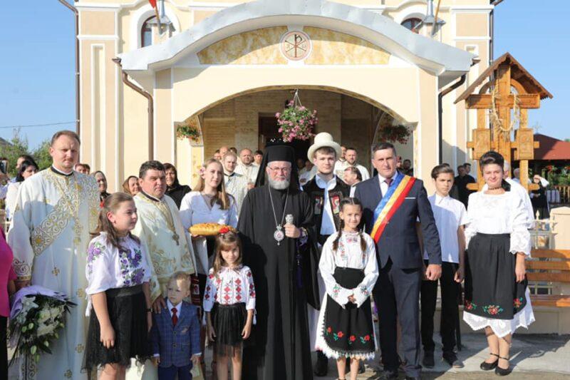 Târnosirea bisericii din Sălsig