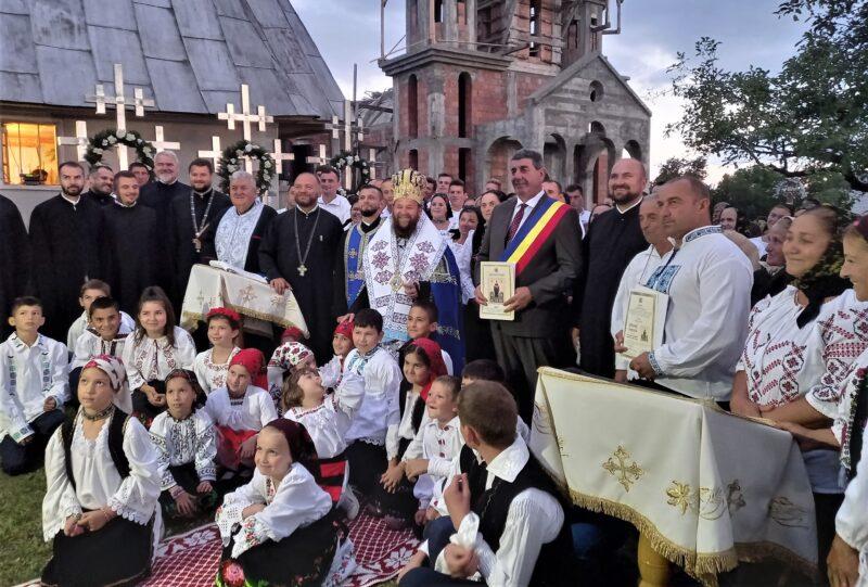 Sărbătoare pentru comunitatea ortodoxă din Codru Butesei și Buteasa Râu
