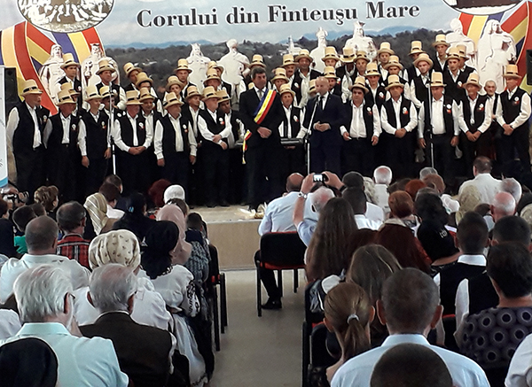 Festival coral la Finteușu Mare
